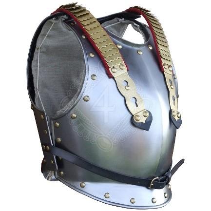 Medieval Times Shoulder - Pelindung Pelat Baja