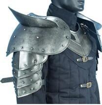 Dark Warrior Pauldron - Pelindung Bahu dan Lengan