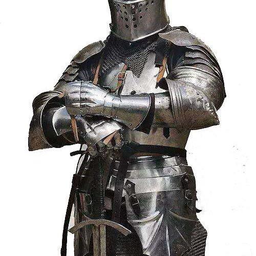 Yunani Romawi Medieva l Spartan Armor - Stel Baju Perang Pelindung Tubuh