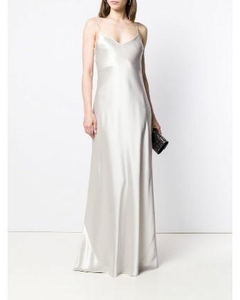 Slip Dress Midi Perada V-neck