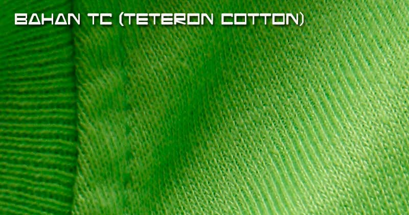 Bahan kain TC ( TETERON COTTON )