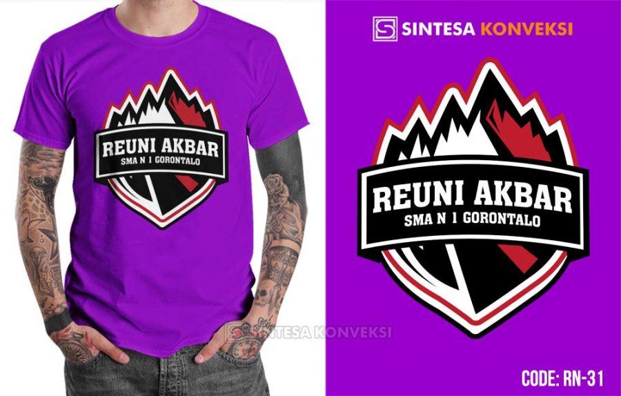 baju reuni ungu