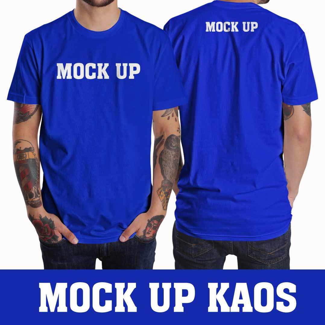 Mock Up Kaos