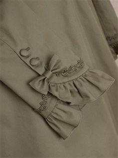 model ujung lengan baju gamis