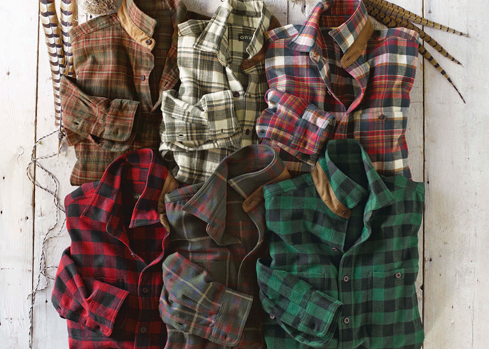 bahan kemeja flannel