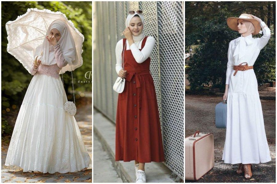 Agar terlihat lebih modis, hijab bisa dipadukan dengan style fashion lain