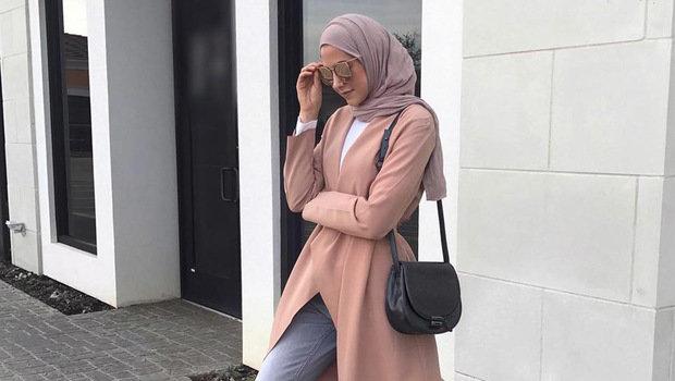 cara berpakaian modis berhijab