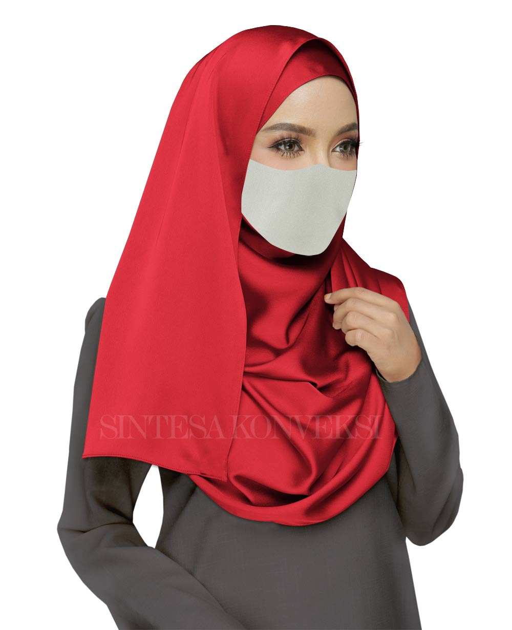 Baju Abu Abu Cocok dengan Jilbab Warna Apa