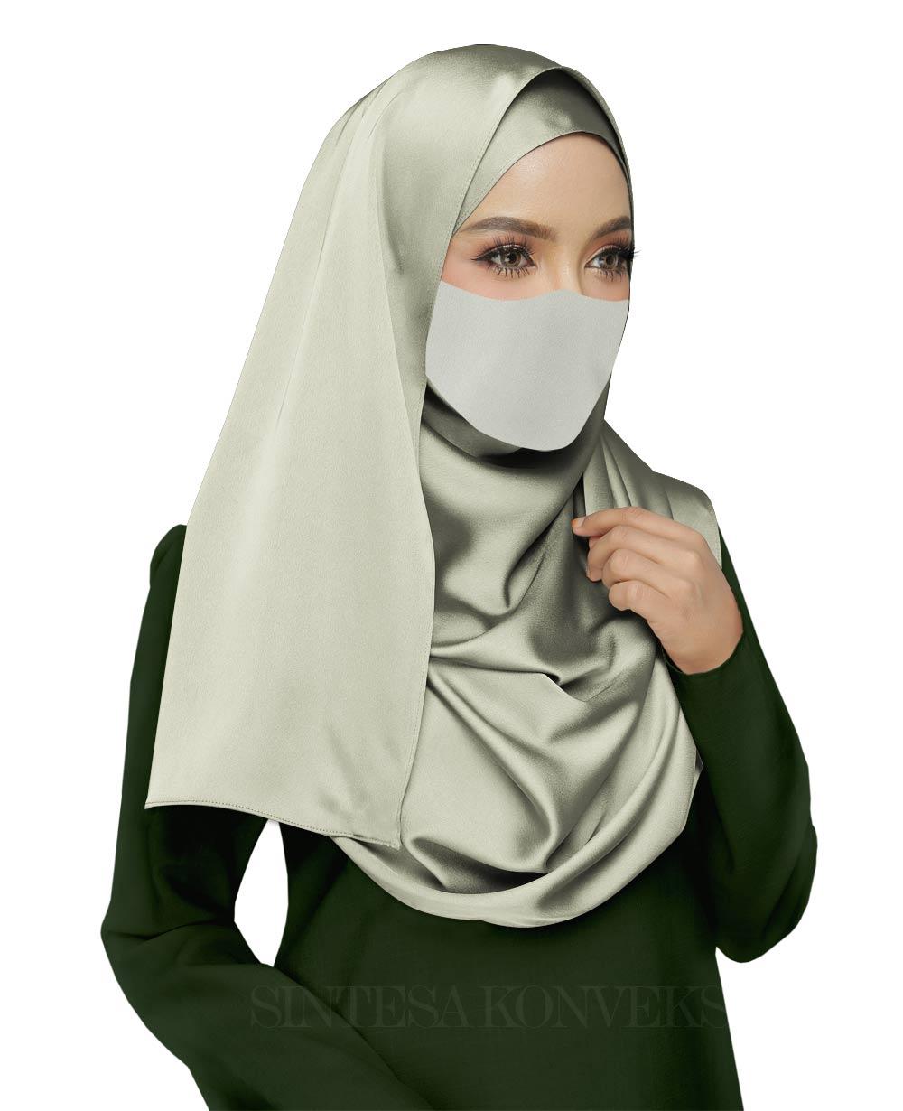 Baju-Hijau-Army-Cocok-dengan-Jilbab-Warna-Apa