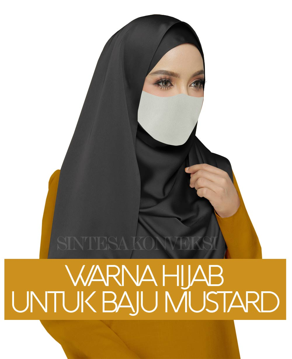 Baju Warna Mustard Cocok Dengan Jilbab Warna Apa