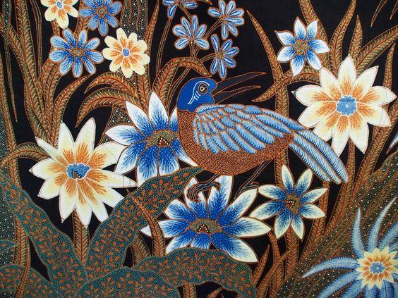 Motif Batik Flora dan Fauna