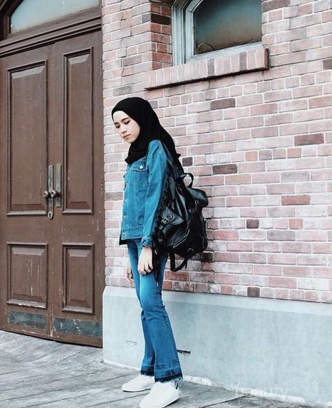 Padu Padan Jaket Jeans