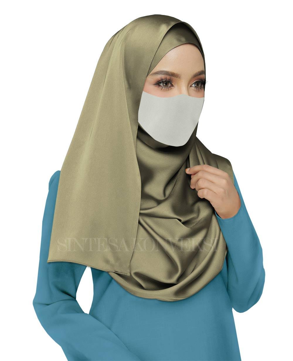 Baju Biru Muda Cocok dengan Jilbab Warna Apa