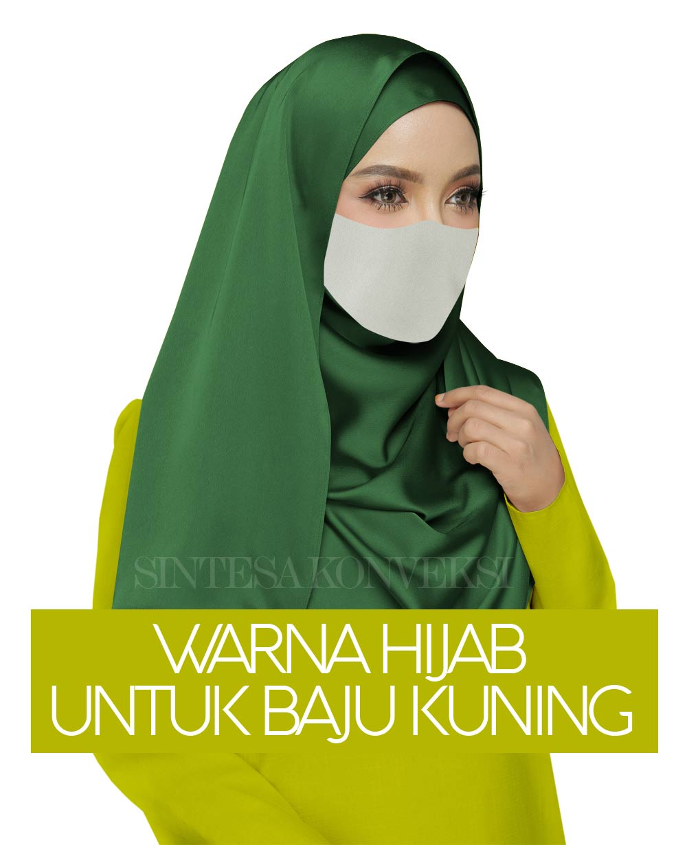 baju kuning cocok dengan jilbab warna apa 2