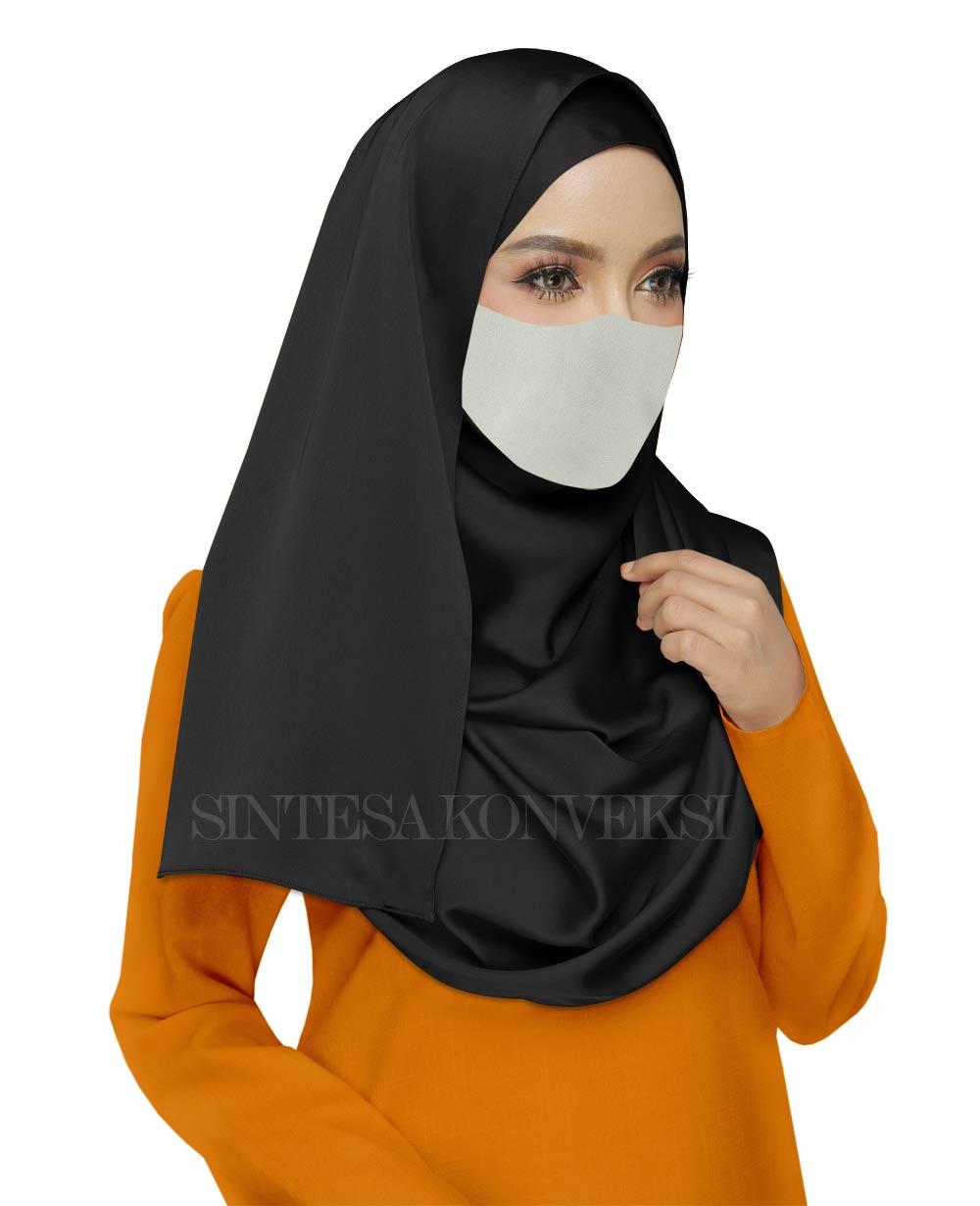 baju orange cocok dengan warna jilbab apa