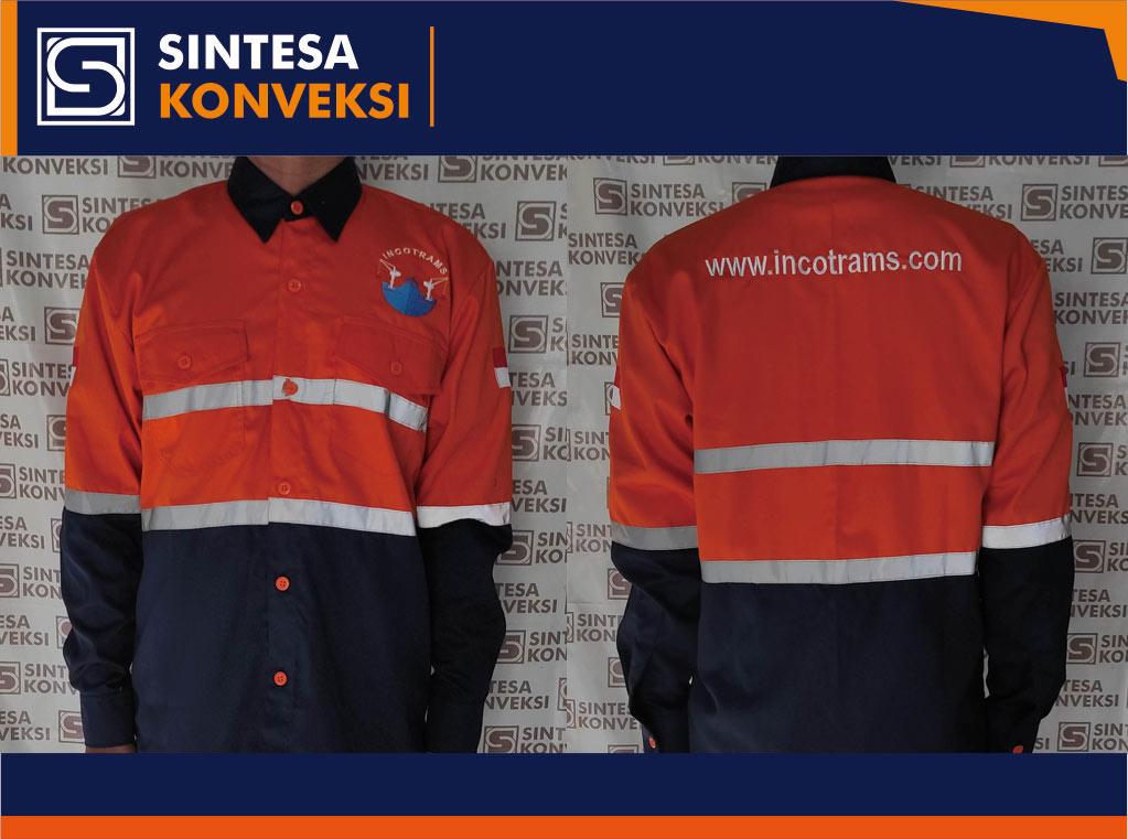 baju tambang safety perusahaan